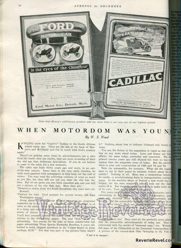 1920s automobiles