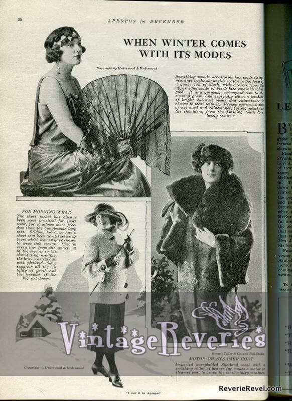 St. Louis 1920s winter fashion
