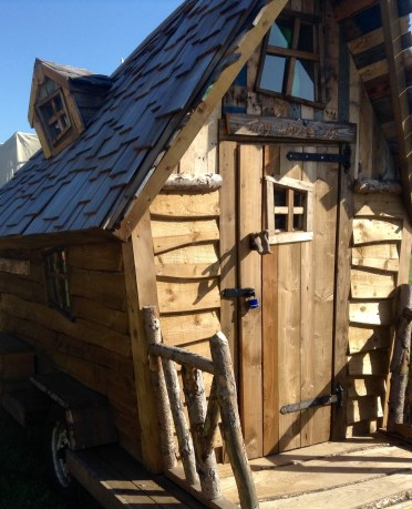 Hand crafted Hobbit houses - perfect for glamping