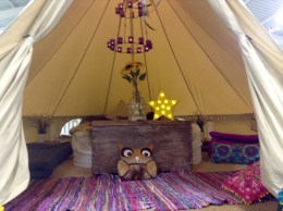 Tipi Chic! Stunning interiors for the pampered camper