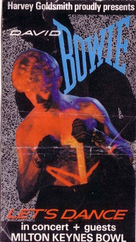 David Bowie 2nd July 1983 Milton Keynes Bowl Serious Moonlight: Lets Dance! (1/2)