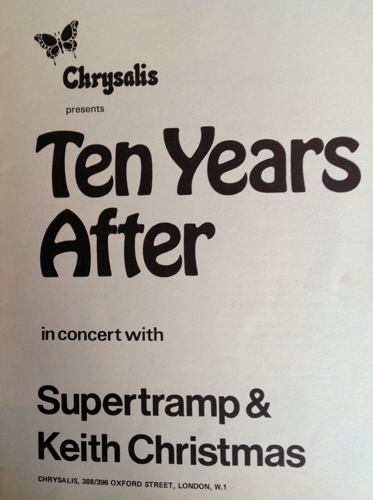 Ten Years After Newcastle City Hall 16th September 1971 (4/4)