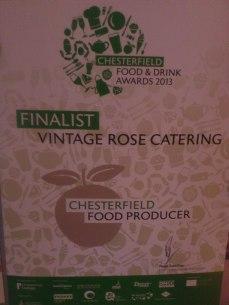 Food Awards 2013