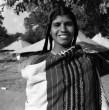 Ph.Studio/January,1956,A49c REPUBLIC DAY CELEBRATIONS 1956: NEW DELHI. A Toda folk dancer from the Nilgiris.
