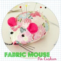 Fabric Mouse Pin Cushion - DIY