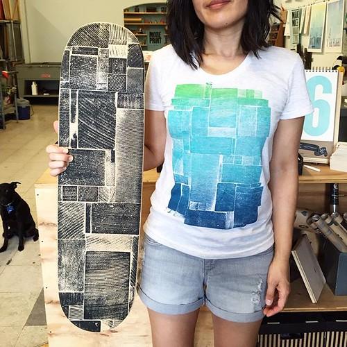 Vintage skateboard restoration