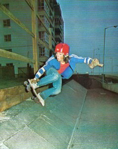 South African skateboarder Brian Kellner by Robert Vente