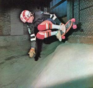 Plymouth skateboarder Jed Stone. Photo by Robert Vente
