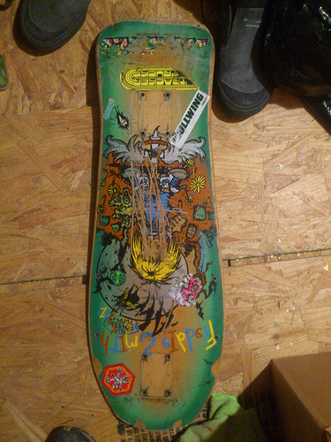 Alva skateboard decks photo