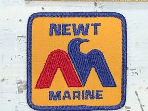 Vintage Newt Marine Patch