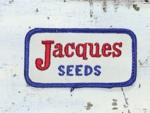 Vintage Jacques Seeds Patch