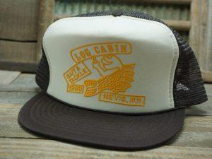 LOG CABIN 1989 Nevis, MN Bait & Tackle Hat
