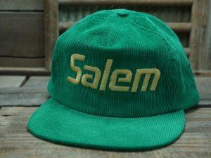 Salem Tobacco Corduroy Vintage Hat