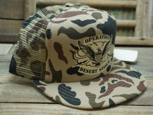 Operation Desert Storm Camo Hat