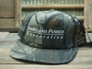 Dairyland Power Cooperative Camo Hat