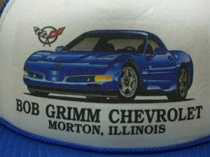 Bob Grimm Corvette Chevrolet Morton, IL Hat