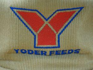 Yoder Feeds Corduroy Winter Cap