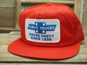 Chevy Trucks Wehrs Chevy Hat