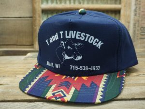T and T Livestock Blair WI Hat