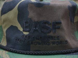 BASF Agrichemicals For a Growing World Camo Hat