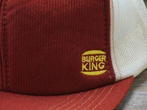 Burger King Corduroy Hat