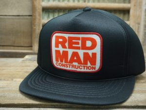 Red Man Construction Hat