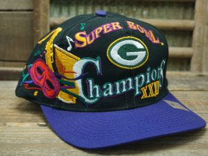 Green Bay Packers Super Bowl Champions XXXI Hat