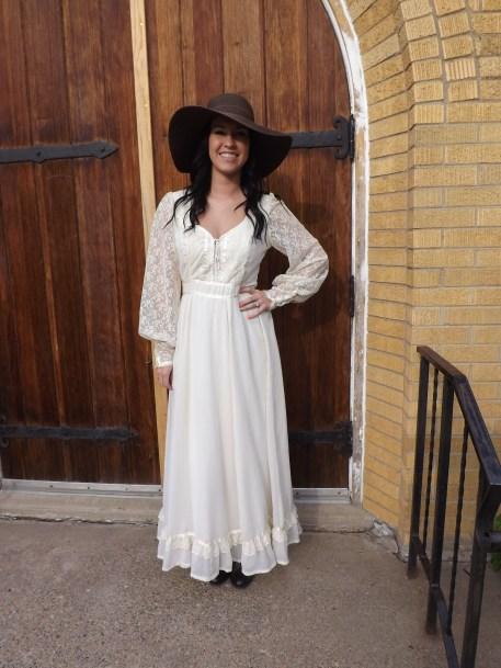 1970s Prairie Dress