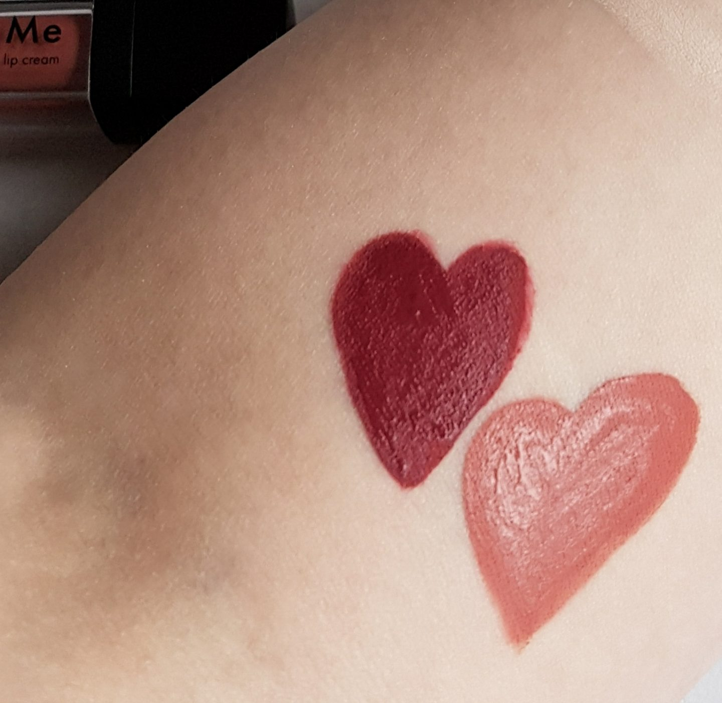 Sleek Liquid Lipstick Matte Me Swatches