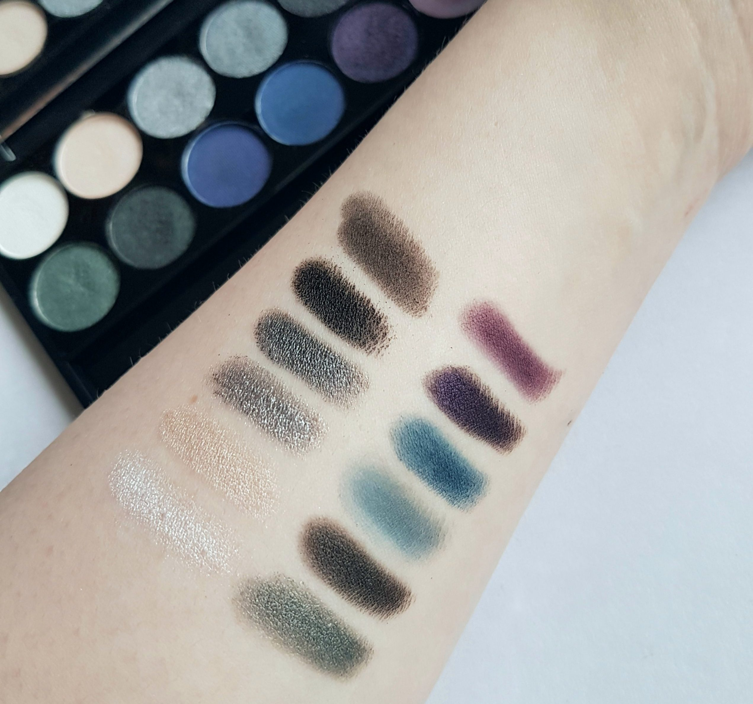 Sleek Bad Girl Eyeshadow Swatches
