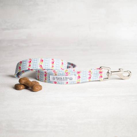 original_blue-and-pink-floral-dog-lead-leash