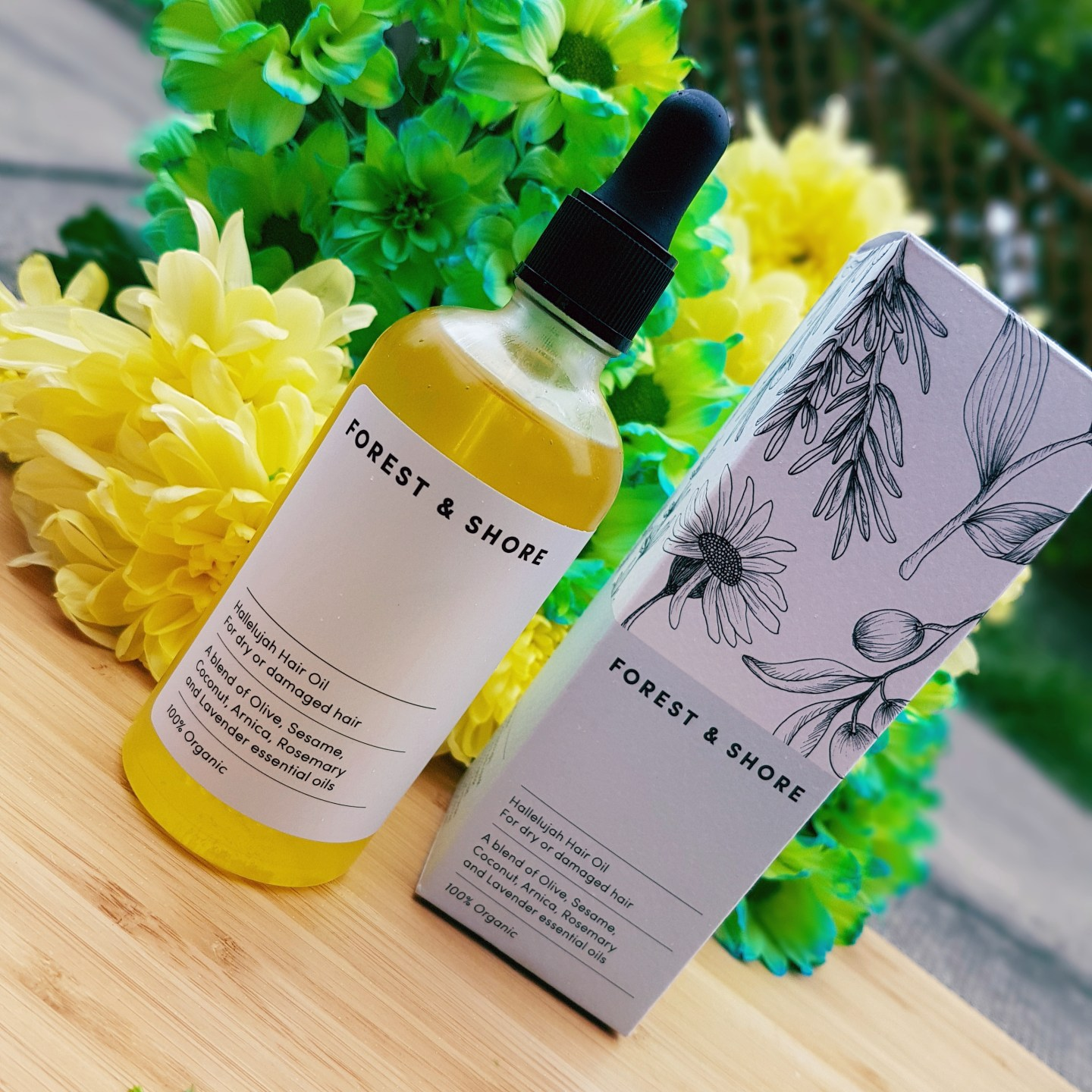 Forest & Shore Hallelujah Hair Oil Review