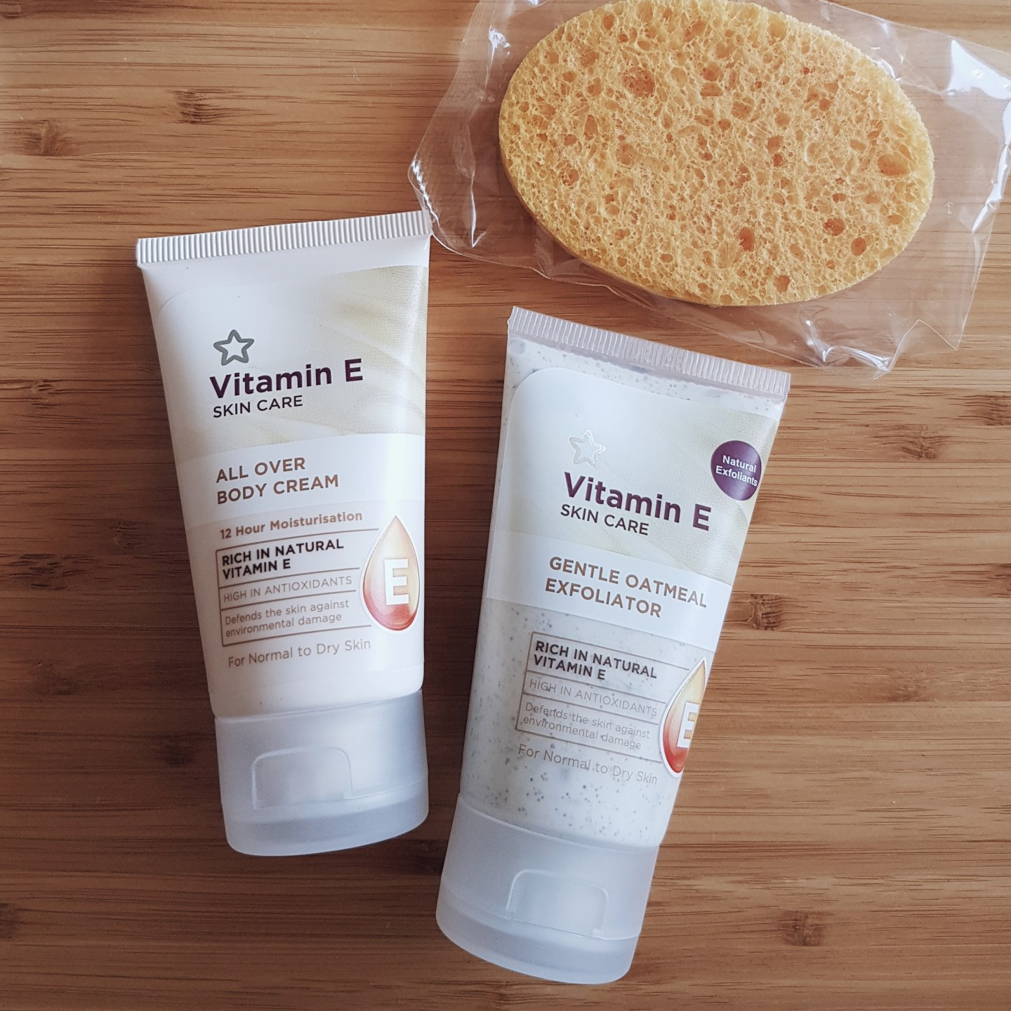 Collective Beauty Haul Superdrug Vitamin E Range