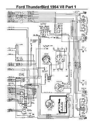 1964 Ford Fuse Box  Detailed Schematics Diagram
