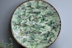 Decorative Fish Plate from RecentHistory