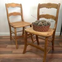 caned side chair