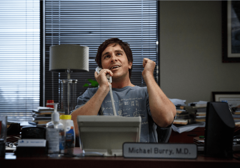Christian Bale as Michael Burry in The Big Short