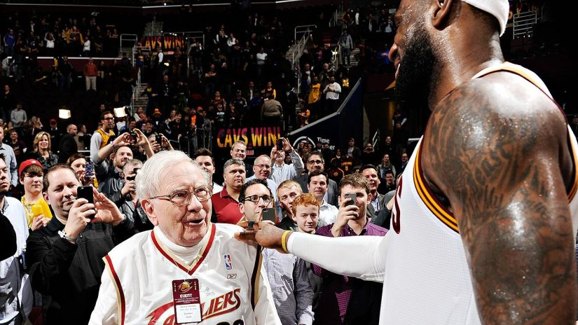 Warren Buffett LeBron James