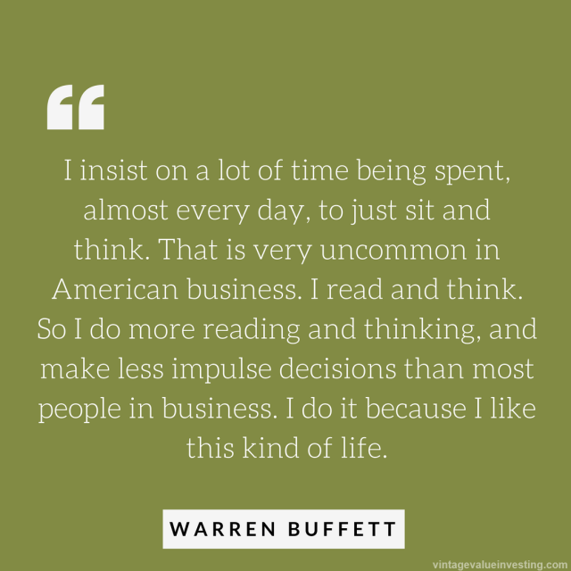 i-insist-on-a-lot-of-time-being-spent-warren-buffett-quotes