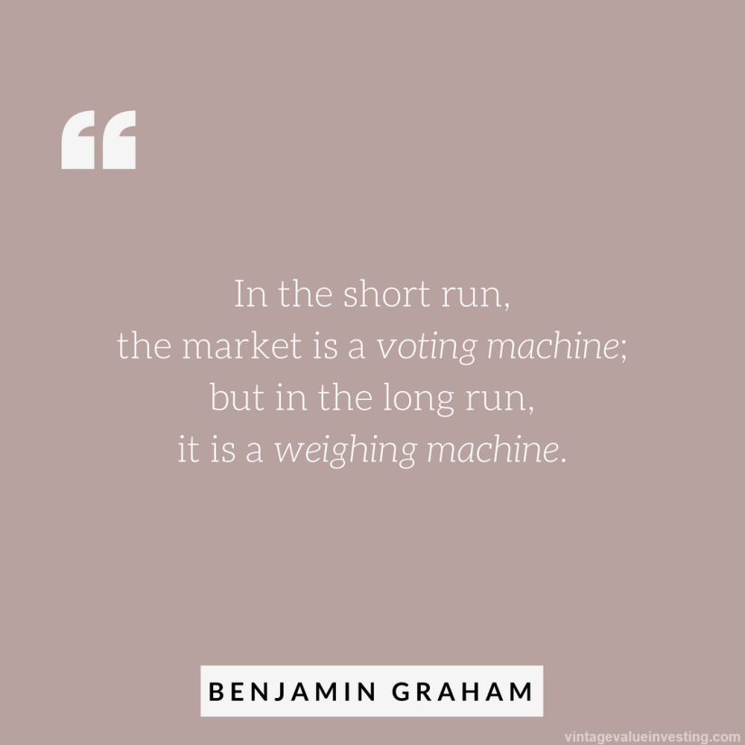 in-the-short-run-benjamin-graham-quotes