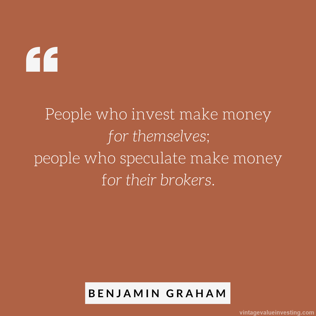 My Recent Stock Quotes: Quote Of The Week: People Who Invest Money