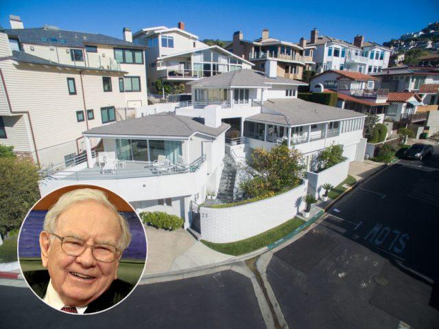 Warren Buffett house Laguna Beach cover