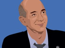 Jeff Bezos Cartoon