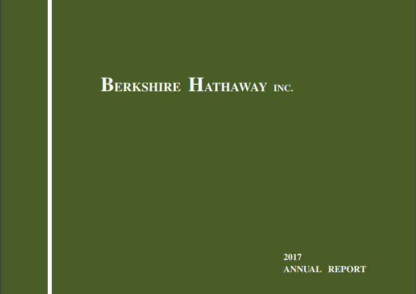 My 5 biggest takeaways from the 2017 berkshire hathaway letter to berkshire hathaway letters to shareholders 2017 vintage value investing fandeluxe Gallery