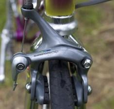 Shimano 600 Tri-color brakeset