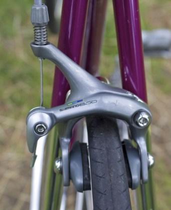 Shimano 600 Tri-color brakes