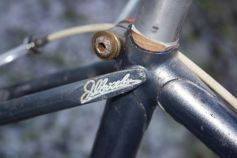 Merckx Professional handwriting seat lug