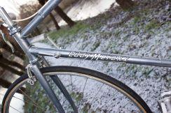 Merckx professional gun metal grey handwriting decals