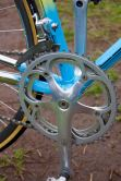 Campagnolo C-Record crank with front ferrailleur
