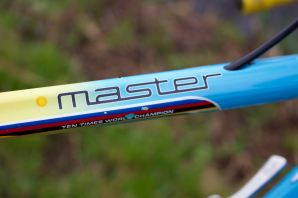 Colnago Master 10 times world champion decal